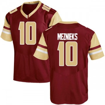 Youth Ervins Meznieks Boston College Eagles Under Armour Game Maroon Team Color College Jersey
